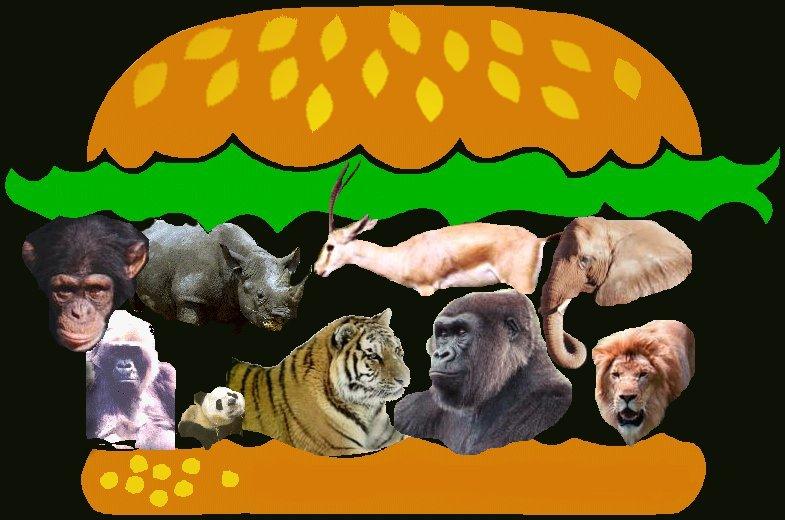 mmm.. endangered species burger.