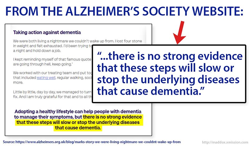 Surprise! There's still no cure for dementia, despite the lofty claims, hype and false hope.