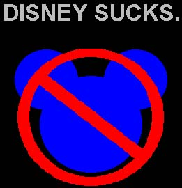 Disney Sucks.