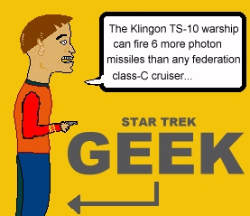 Beware of the Star Trek Geeks